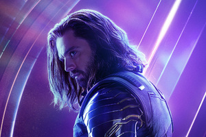 Bucky Barnes In Avengers Infinity War New Poster