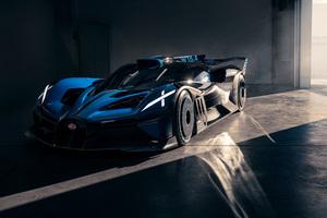 Bugatti Bolide 2021 Front 8k