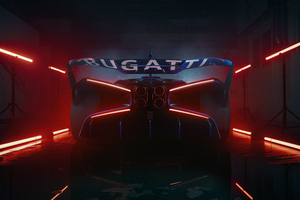 Bugatti Bolide 2021 New Wallpaper