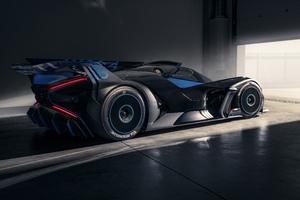 Bugatti Bolide 2021 Rear