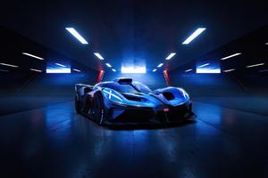 Bugatti Bolide 4k Wallpaper