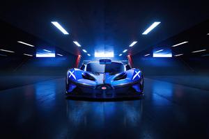 Bugatti Bolide Front Look 4k Wallpaper