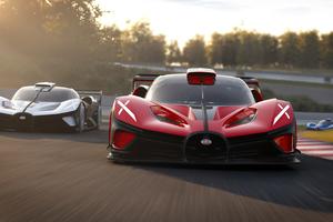 Bugatti Bolide On Track