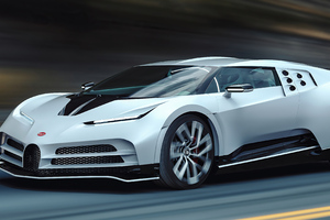 Bugatti Centodieci Cgi Art 4k