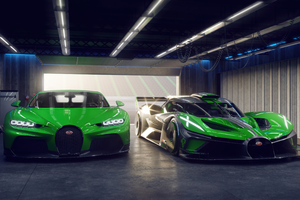 Bugatti Chiron And Bugatti Bolide