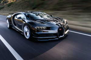 Bugatti Chiron Black Wallpaper