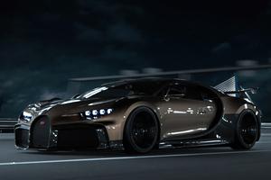 Bugatti Chiron Cgi 8k Wallpaper