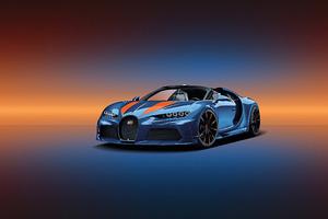 Bugatti Chiron Front 2019 Wallpaper