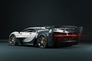 Bugatti Chiron GT Rear View