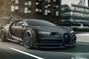 Bugatti Chiron Noir Matt 5k Wallpaper