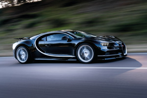 Bugatti Chiron On Road Wallpaper