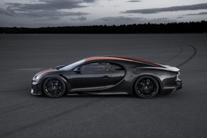 Bugatti Chiron Prototype 2019 Side View Wallpaper