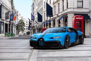 Bugatti Chiron Pur Sport 2020 4k