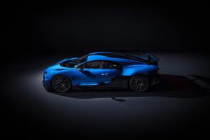 Bugatti Chiron Pur Sport 2020 Side View