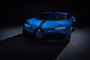 Bugatti Chiron Pur Sport 2020 Up View