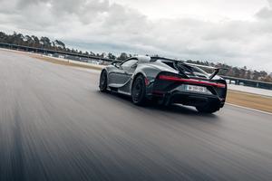 Bugatti Chiron Pur Sport Rear Wallpaper