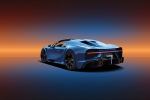 Bugatti Chiron Rear 2019 Wallpaper