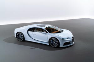 Bugatti Chiron Sky View 2018 4k