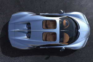 Bugatti Chiron Sky View 5k 2018 Upper View
