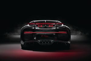 Bugatti Chiron Sport 2018 Rear Lights 4k