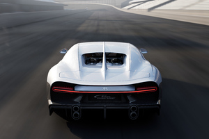 Bugatti Chiron Super Sport High Speed Wallpaper