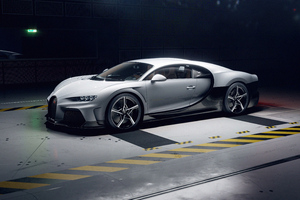 Bugatti Chiron Super Sport Side View 5k Wallpaper