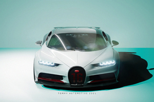 Bugatti Chiron UE4 4k Wallpaper