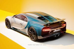 Bugatti Chiron UE4 Cgi 4k Wallpaper