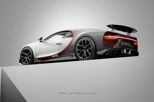 Bugatti Chiron UE4 Cgi Art 4k Wallpaper