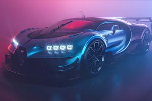 Bugatti Chiron Vision GT 5k