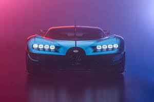 Bugatti Chiron Vision Gt Cgi 8k Wallpaper