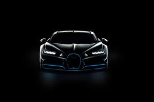 Bugatti Chiron Vision Oled Wallpaper