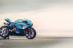 Bugatti Concept Bike Wallpaper