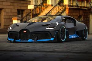 Bugatti Divo 2018 Art
