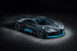 Bugatti Divo 2018 Upper View