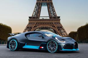 Bugatti Divo In Paris France