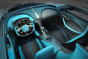 Bugatti Divo Interior 4k