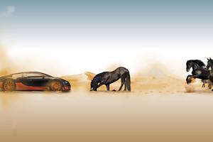 Bugatti Horse