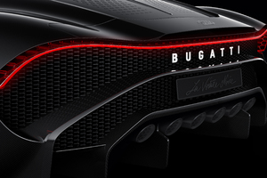 Bugatti La Voiture Noire Rear Lights Wallpaper