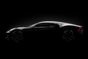 Bugatti La Voiture Noire Side View Concept Wallpaper