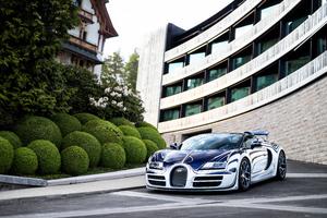 Bugatti Veyron Grand Sport Roadster 5k Wallpaper