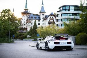 Bugatti Veyron Grand Sport Roadster Rear 5k Wallpaper
