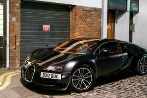 Bugatti Veyron Matte Wallpaper