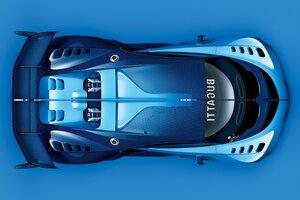 Bugatti Vision Gran Turismo Desktop Wallpaper