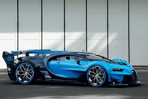 Bugatti Vision Gran Turismo PC Wallpaper