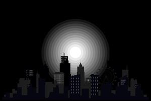 Buildings Monochrome 4k Wallpaper