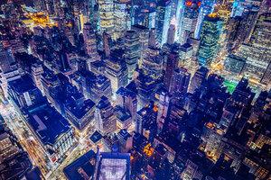 Buildings Night Lights 5k