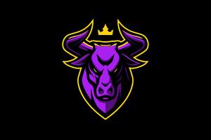 Bull Mascot Wallpaper