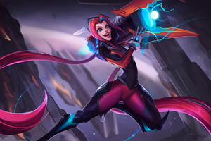 Bullet Reaper Jinx League Of Legends 4k