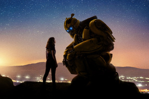 Bumblebee Movie 2018 Cool New Poster 5k